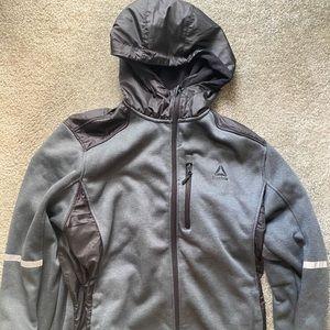 Men's fleece lined lightweight active jacket